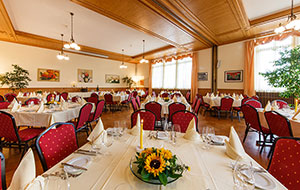 Wedding function room at Hotel Emmental